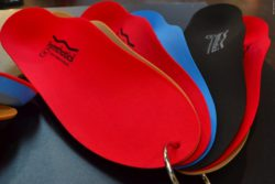 Photo: Formthotics™ total contact foot orthotic; Copyright: beta-web/Hofmann