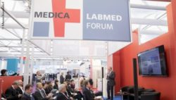 Image: Packed MEDICA LABMED FORUM; Copyright: Messe Düsseldorf