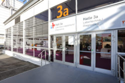 Foto: Hall 3a - outdoor view, western entry