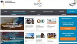 Photo: Screenshot of the web portal WISS Copyright: wiss-netz.de