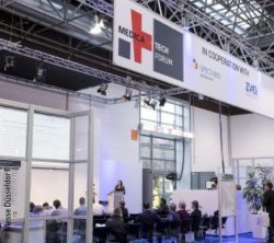 Image: Picture of the MEDICA TECH FORUM