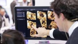 Image: Imaging at a trade fair stand; Copyright: Messe Düsseldorf