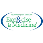 Logo American College of Sports Medicine (Exercise is Medicine)