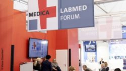 Image: MEDICA LABMED FORUM; Copyright: Messe Düsseldorf