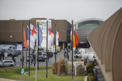 Photo: Düsseldorf Exhibition Centre during MEDICA and COMPAMED.