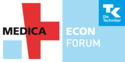 Graphic: Logo of MEDICA ECON FORUM by TK