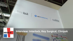 "Image: Preview picture to the video ""Interview with Interlock, Key Surgical, Clinipak"""