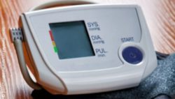 Photo: Blood plessure meter
