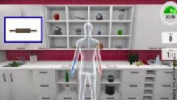 Image: Virtual reality kitchen; Copyright: University of East Anglia