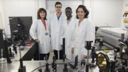 Image: Research team of nonoparticle sensor; Copyright: Asociación RUVID
