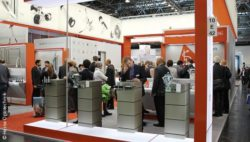 Image: Stand at MEDICA; Copyright: Heine Optotechnik