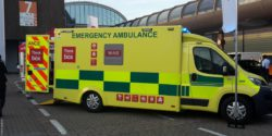 Image: Ambulance outside area; Copyright: beta-web/Roth