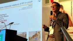 Photo: Prof Urs Granacher at MEDICA; Copyright: beta-web/Wackerbauer