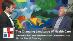 "Image: Preview picture of video ""Changing landscape of health care"""