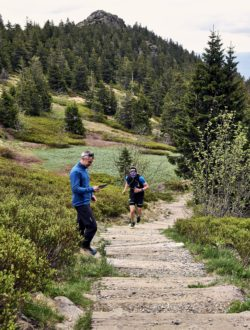 Image: Trailrunning with MetaMax 3B; Copyright: Oliver Klein